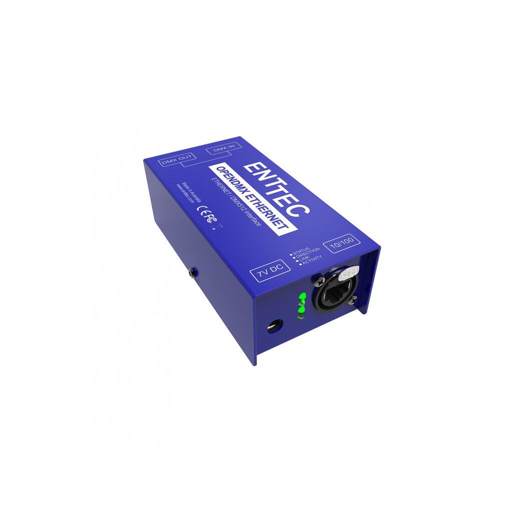 Spiksplinternieuw Enttec Open DMX Ethernet ODE - CONTROLLER DMX-DIMMER στο Lucas Led FR-84