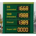 Petrol Station Led Sign Price