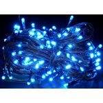 Christmas Led Lights Blue 100L 9.3m + Controller