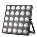 LED Matrix Blinder 25x3W Warm White Frosted Lens