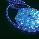 Rope Light 36 Leds/m 2 Wires Blue 935-004
