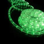 Rope Light 36 Lights/m 3 Wires Green