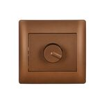 Dimmer Switch Rhyme Coffee Metallic