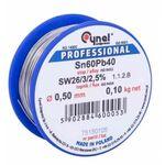 Solder Tin 0.50mm / 100g Sn60Pb40 Cynel