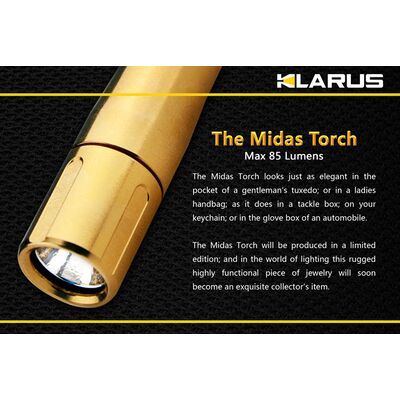 Φακός Led Klarus MiX6Au 85 Lumens