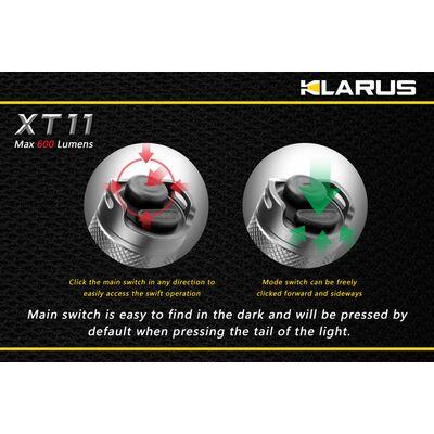 Klarus XT11 600 Lumens