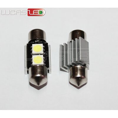 Festoon 31mm CAN BUS 2 SMD 5050