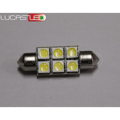 Festoon 39mm Cool White 6 SMD5050