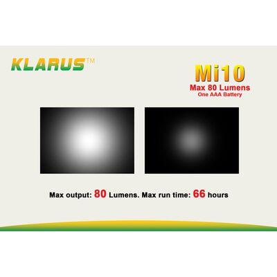 Klarus Mi10AL 80 Lumens