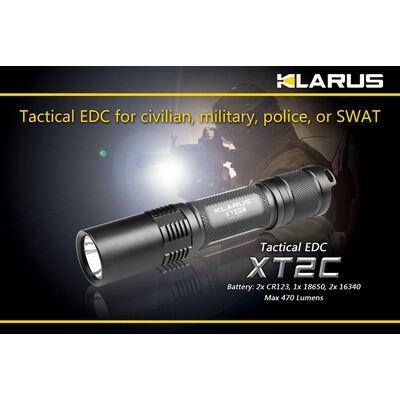 Φακός Led Klarus XT2C 470 Lumens