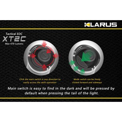 Klarus XT2C 470 Lumens