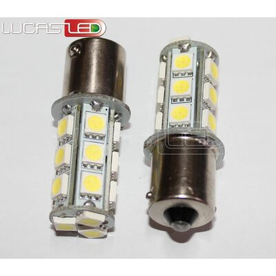 Λάμπα Led 1156 18SMD 5050 Warm White
