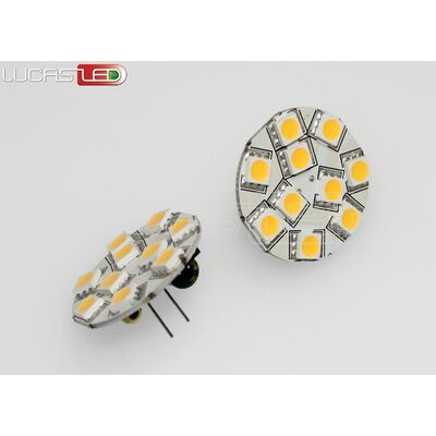 Led Lamp G4 2,4W WW 12V Back Pin