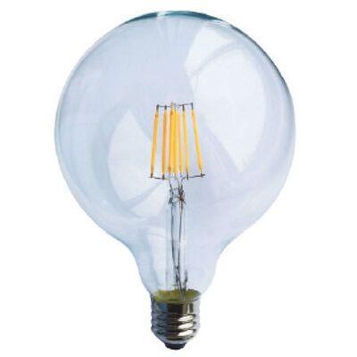 Led Lamp Edison E27 6W Globe G95 Dimmable 2700K