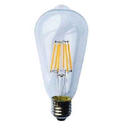 Λάμπα Led Edison E27 6W Dimmable 2700K