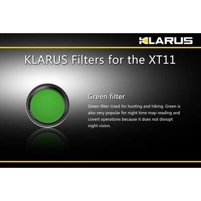 Filter XT11 Green