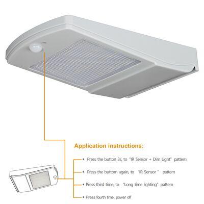 Ηλιακό Φωτιστικό Led Αυτόνομο 4W 5000K 450 lumen