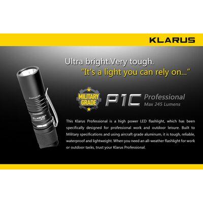 Φακός Led Klarus P1C 245 Lumens