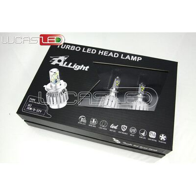 Set Led Car Bulb H4 Cree 12V-24V