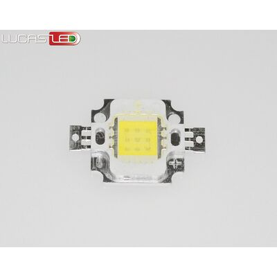 Led COB 10W Cool White 9-11V DC
