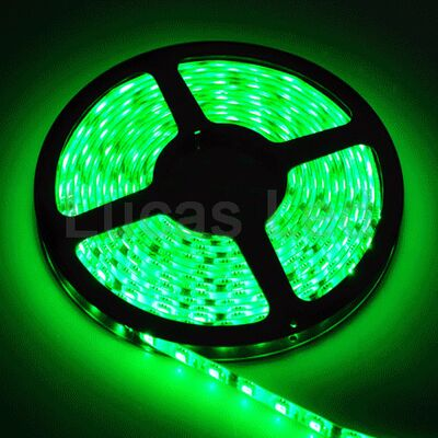 Αδιάβροχη Ταινία Led 14,4W Πράσινη 24V IP65