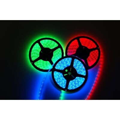 Waterfroof Led strip 14,4W RGB 24V IP65