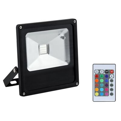 LED Flood Light RGB 50W with remote control
