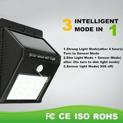 Solar Led light 12 led SMD2835 100 lumen