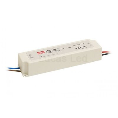 Mean Well Τροφοδοτικό 100W-12V IP67 LPV-100-12