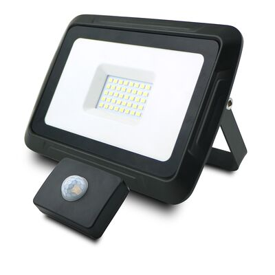 LED Flood Light with Sensor 30W 6000K Pro-X