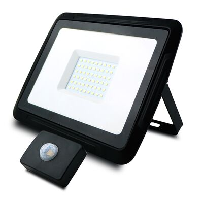 LED Flood Light with Sensor 50W 6000K Pro-X