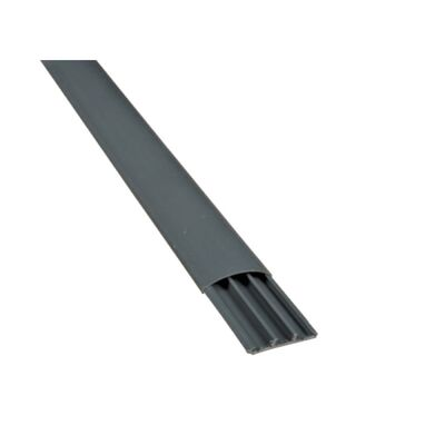 Floor Type Plastic Cable Trunking CT2 90x20 Grey