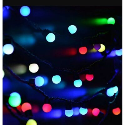 Christmas Led Lights RGB 200L 17m + Controller