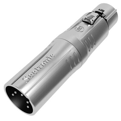 Adapter XLR 5pin male to XLR 3pin female MA5M3F Seetronic