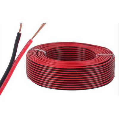 Speaker Cable 2x1.00 Red - Black