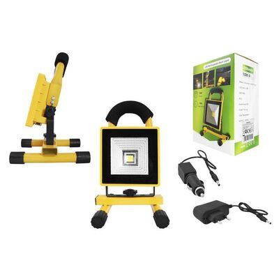 Rechargeable Led Flood Light 10W with Battery