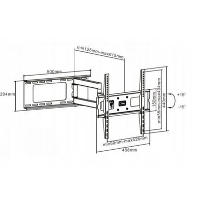 """Tv Stand 37"""" – 70"""" with Bracket"""