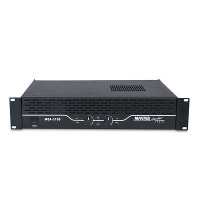 Master Audio Professional Amplifier MQA3100 2X250W 4Ohm