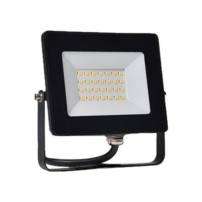 LED Flood Light 20W 5000K 230V Black