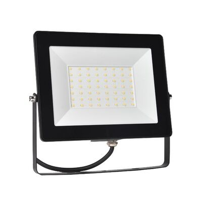 LED Flood Light 50W 5000K 230V Black