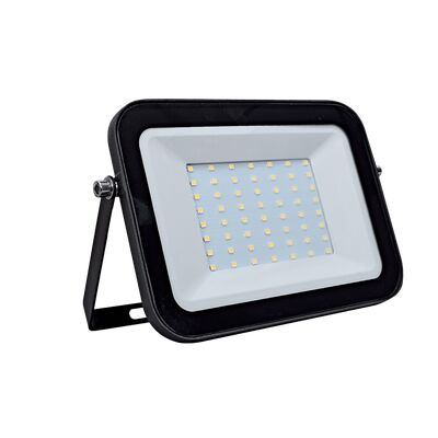 LED Flood Light 100W 5000K 230V Black