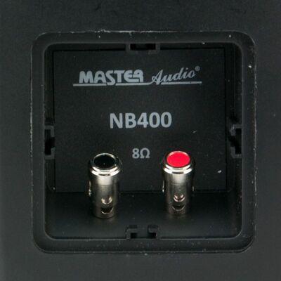 Ηχεία Master Audio NB400B Black Pair (Ζεύγος) Αδιάβροχα