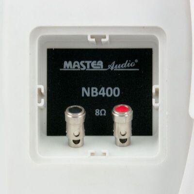 Master Audio NB400W White Pair