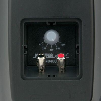 Master Audio NB400TB Black Pair