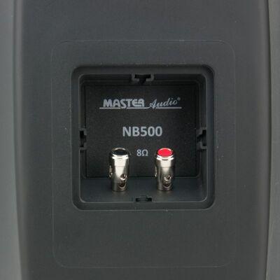 Ηχεία Master Audio NB500B Black Pair (Ζεύγος) Αδιάβροχα Εξωτερικού Χώρου