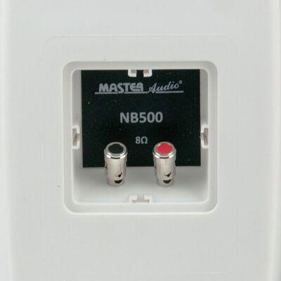 Master Audio NB500W White Pair